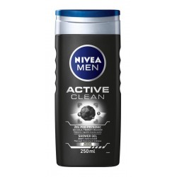 Nivea Men Żel pod prysznic Active Clean  250ml