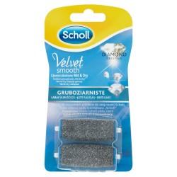 Scholl Akcesoria do stóp Velvet Smooth Wymienne głowice gruboziarniste do pilnika elektronicznego 1op-2szt