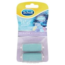 Scholl Akcesoria do stóp Velvet Smooth Wymienne głowice delikatnie wygładzające do pilnika elektronicznego 1op-2szt