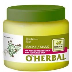Elfa Pharm O'Herbal Maska do włosów farbowanych  500ml