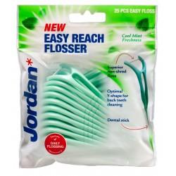 Jordan Nici dentystyczne i wykałaczki 2w1 Easy Reach Flosser  1op.-25szt