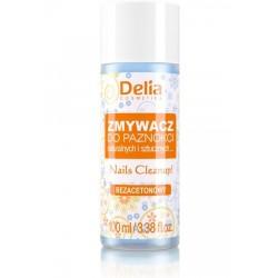 Delia Cosmetics Zmywacz do paznokci naturalnych i sztucznych bez acetonu  100ml