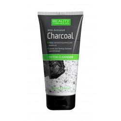Beauty Formulas Charcoal Żel do twarzy detoksykujący głęboko oczyszczający z aktywnym węglem  150ml