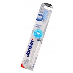 Jordan Szczoteczka do zębów Target White soft - mix kolorów 1szt