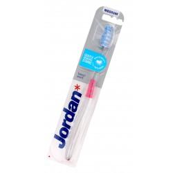Jordan Szczoteczka do zębów Target White medium - mix kolorów 1szt