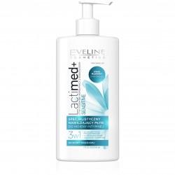 Eveline Lactimed+ Płyn do higieny intymnej nawilżający 3w1 Sensitive  250ml