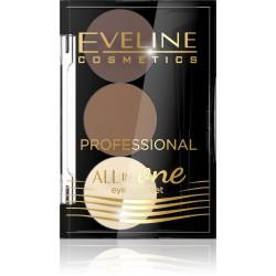 Eveline All in One Eyebrow Set Cienie do brwi nr 02
