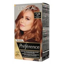 Loreal Preference Farba do włosów nr 7.23 Bali - blond opalizująco-złocisty  1op.