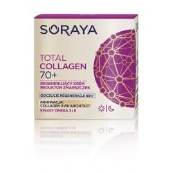 Soraya Total Collagen 70+ Krem regenerujący-reduktor zmarszczek na dzień i noc  50ml