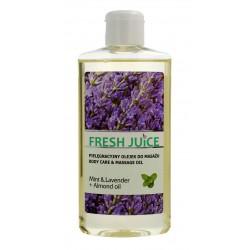Fresh Juice Pielęgnacyjny Olejek do masażu Mint & Lavender+Almond Oil  150ml