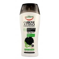 Equilibra Carbone Attivo Szampon do włosów oczyszczający z aktywnym węglem Detox  250ml