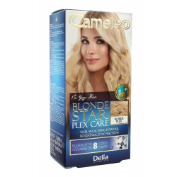 Delia Cosmetics Cameleo Rozjaśniacz do włosów Blonde Star Plex Care  1op.
