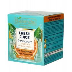 Bielenda Fresh Juice Krem Booster nawilżający z wodą cytrusową Pomarańcza 50ml