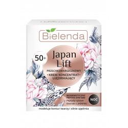 Bielenda Japan Lift 50+ Ujędrniający Krem-koncentrat przeciwzmarszczkowy na noc  50ml