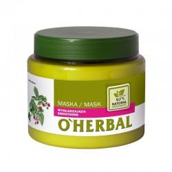 Elfa Pharm O'Herbal Maska do włosów wygładzająca - Malina  500ml