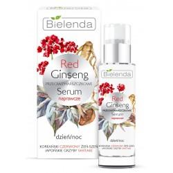 Bielenda Red Ginseng Przeciwzmarszczkowe Serum naprawcze na dzień i noc 30ml