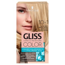 Schwarzkopf Gliss Color Krem koloryzujący nr 10-1 Ultra Jasny Popielaty Blond 1op.