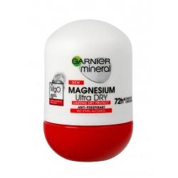 Garnier Mineral Dezodorant roll-on 72H Magnesium Ultra Dry  50ml