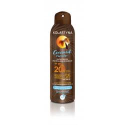 Kolastyna Opalanie Suchy Olejek do opalania w mgiełce SPF20 Coconut Paradise 150ml