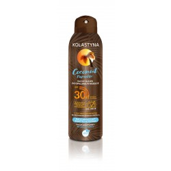 Kolastyna Opalanie Suchy Olejek do opalania w mgiełce SPF30 Coconut Paradise 150ml