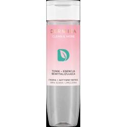 Dermika Clean & More Tonik-Esencja rewitalizująca - cera szara i zmęczona  200ml