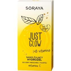 Soraya Just Glow Nawilżający Hydrożel do cery mieszanej i tłustej z witaminą C 50ml