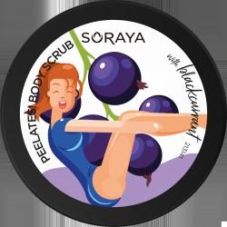 Soraya Healthy Body Diet Wygładzający Scrub do ciała z drobinkami cukru i olejem z Czarnej Porzeczki 200g