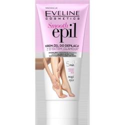"""Eveline Smooth Epil Krem-żel do depilacji z efektem """"glamour"""" - nogi,ręce 175ml"""
