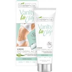 Bielenda Vanity bio Clays Krem do depilacji z zieloną glinką - skóra sucha  100ml
