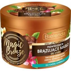 Bielenda Magic Bronze Nawilżające Brązujące Masło do ciała - każda karnacja  200ml