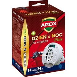 AROX Elektrofumigator Dzień & Noc Plus na komary 1op.