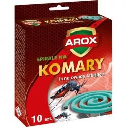 AROX Spirale na komary i inne owady latające 1op.-10szt