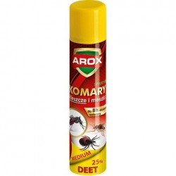 AROX Spray Deet Medium na komary,kleszcze i meszki  90ml