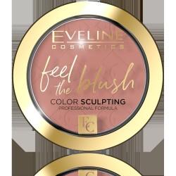 Eveline Feel the Blush Róż do policzków nr 04 Tea Rose  1szt