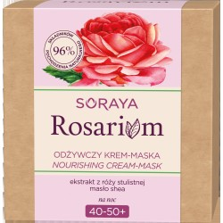 Soraya Rosarium Różany Krem-maska odżywczy 40-50+ na noc 50ml