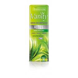 Bielenda Vanity Krem do bezpiecznej depilacji skóry wrażliwej Aloes  100ml