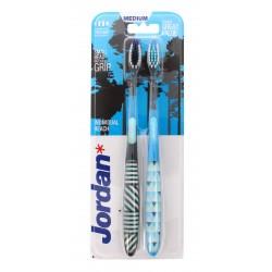 Jordan Szczoteczka do zębów DUO Individual Reach Medium - mix kolorów  1 op-2szt