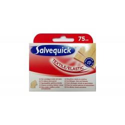 Salvequick Plastry Textile do cięcia 75cm  1szt