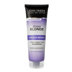 John Frieda Sheer Blonde Szampon do włosów blond przeciw żółknięciu Colour Renew  250ml