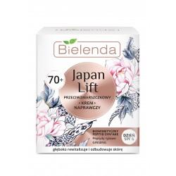 Bielenda Japan Lift 70+ Naprawczy Krem przeciwzmarszczkowy SPF6 na dzień  50ml
