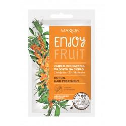 Marion Enjoy Fruit Zabieg olejowania włosów na ciepło 20ml