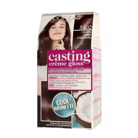 Casting Creme Gloss Krem koloryzujący nr 5102 Chłodna Mokka  1op.