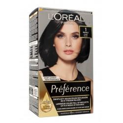 Loreal Preference Farba do włosów 1 Napoli - czerń  1op.