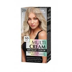 Joanna Multi Cream Metallic Color Farba do włosów nr 29 Bardzo Jasny Śnieżny Blond 1op.