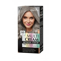 Joanna Multi Cream Metallic Color Farba do włosów nr 32.5 Srebrny Blond 1op.