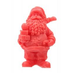 LaQ Mydełko glicerynowe Święty Mikołaj z prezentami- czerwony  50g