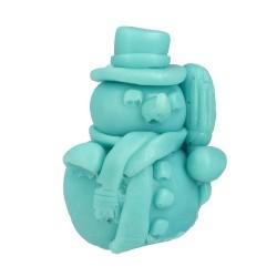 LaQ Mydełko glicerynowe Bałwanek - niebieski  50g