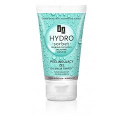 AA Hydro Sorbet Peelingujący Żel do mycia twarzy - cera mieszana i normalna  150ml