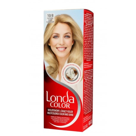 Londacolor Cream Farba do włosów nr 10/8 platynowo-srebrny  1op.