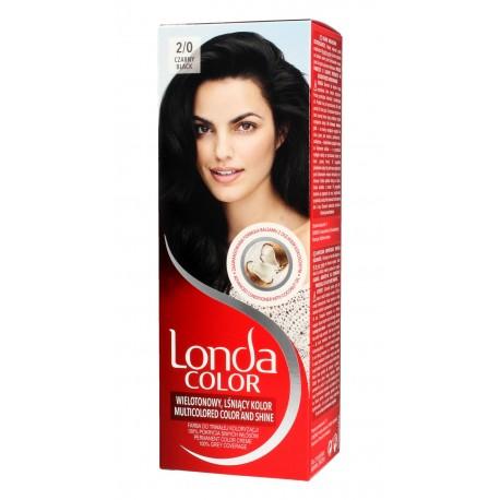 Londacolor Cream Farba do włosów nr 2/0 czarny  1op.